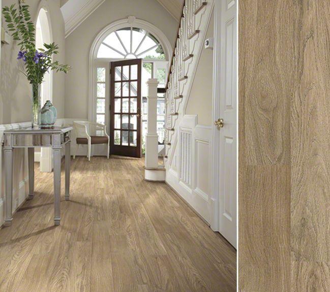 HGTV HOME Flooring By Shaw Laminate In A White Oak Visual
