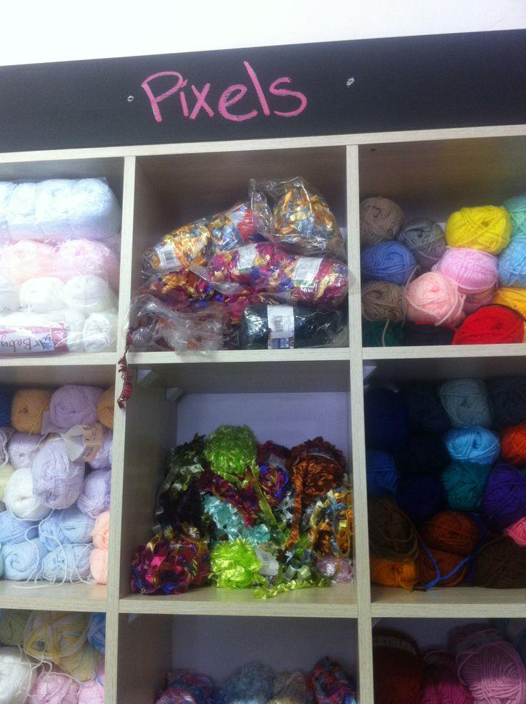 Pixels Wool