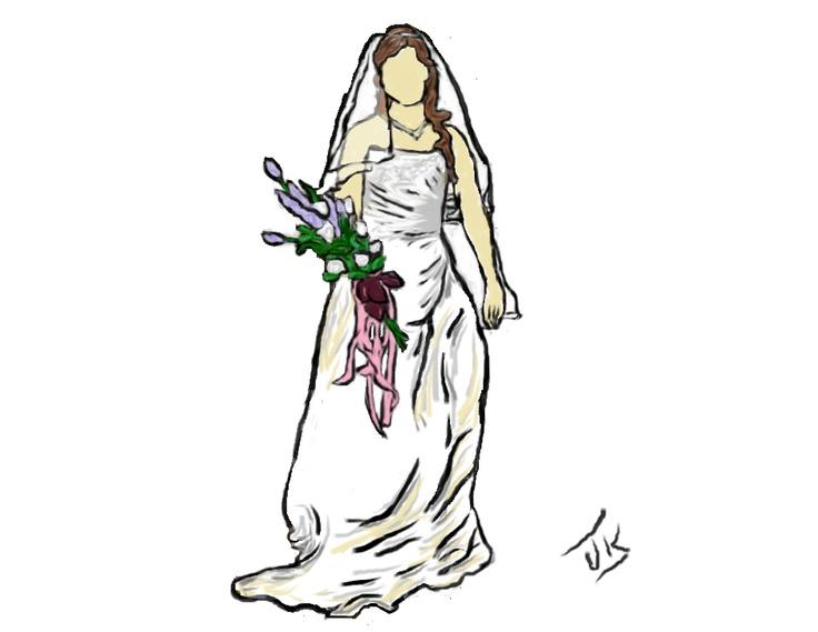 Joanna wedding dress