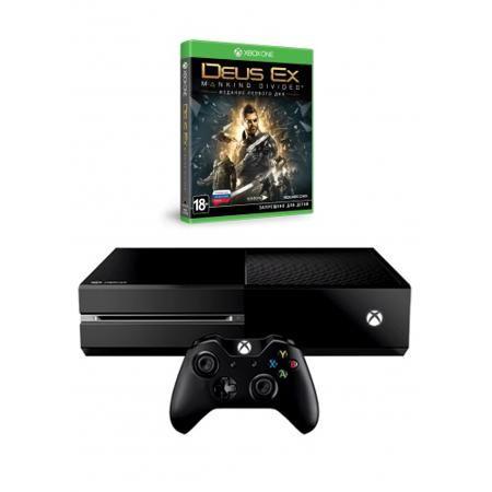 Microsoft Xbox1 500ГБ+DEUS EX MANK DIVID  — 26989 руб. —  Играйте и храните на 500-ГБ жестком диске больше игр, в том числе свои игры для Xbox 360. Xbox One позволяет приостановить игру и мгновенно продолжить ее с того места, на котором вы остановились. Только Xbox One поддерживает стриминг игр на домашний ПК или планшет с Windows 10. Постоянно добавляются новые возможности и улучшения — более ста с момента выхода консоли.