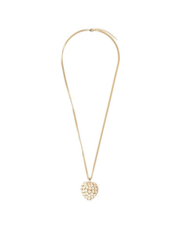 Heart Pendant Long Necklace