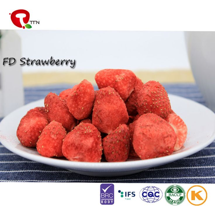 TTN  Strawberry Flavored Freeze Dried Fruit And Market Freeze Dried Strawberry Price from TTN (TIANJIN) METAL IMPORT AND EXPORT CO.,LTD, Model:Strawberry;Color:Natural Strawberry Color; Raw Material:IQF fruit; Taste:Crispy; Total viable count:≤50 000 cfu/g; Coliforms:≤100 cfu/g;