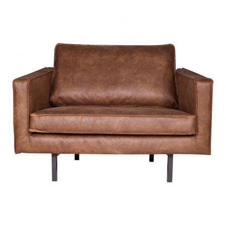 BePure Rodeo fauteuil 1,5-zits love-seat Cognac