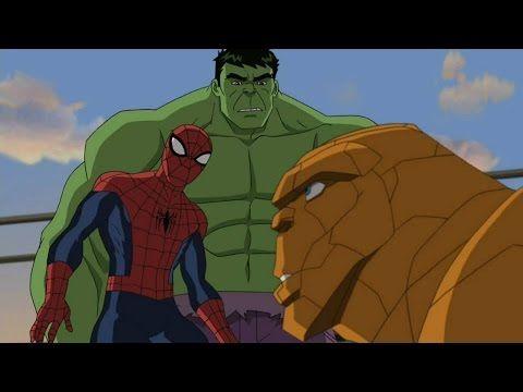 Spider Man vs Hulk - Dibujos animados en español completos - Peliculas d...