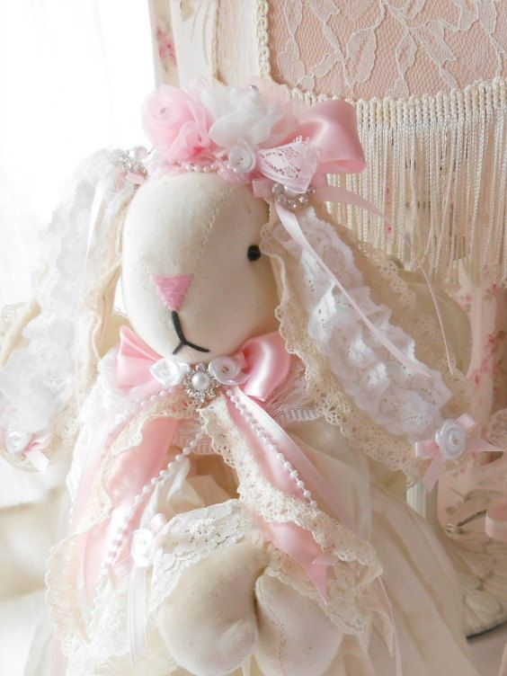Easter Bunny Happy EasterEaster BunnyVintage Shabby ChicEaster