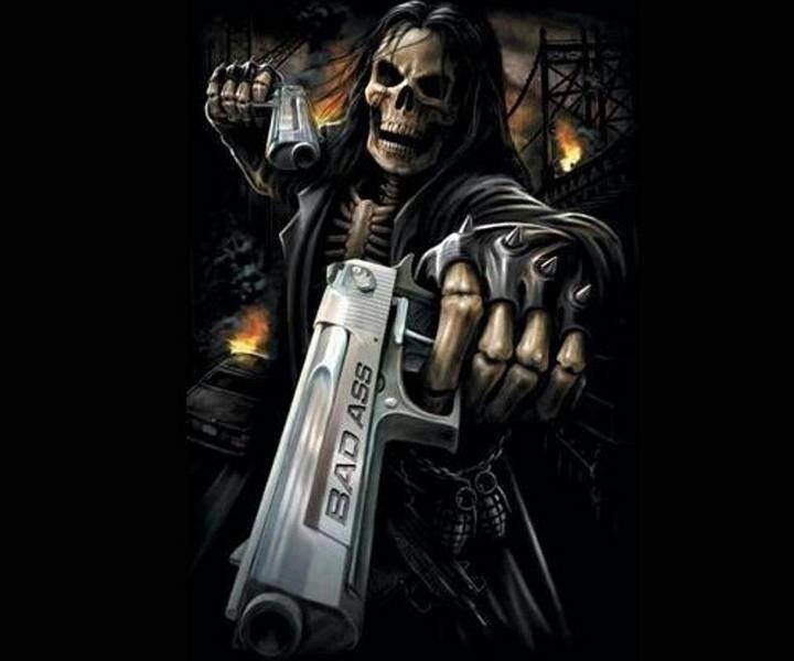 Bad Ass Skull 94
