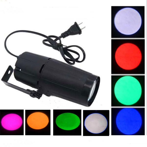 3W LED Spotlight Stage Light DJ Disco KTV Effect Ball Lamp for Halloween Christmas AC95-240V