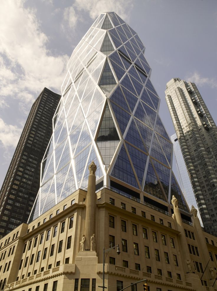 New York City Honeycombed Architecture