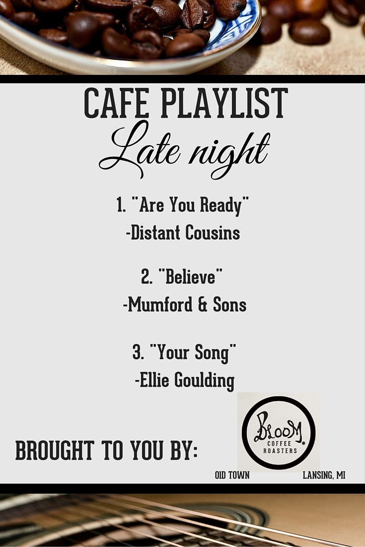 """Do you ever get stuck at work late at night? Get a good pick me up with our latest """"late night"""" playlist that includes songs by Distant Cousins, Mumford & Sons, and Ellie Goulding. Keep yourself awake during your late night and enjoy a coffee from our collection here: http://www.bloomroasters.com/"""
