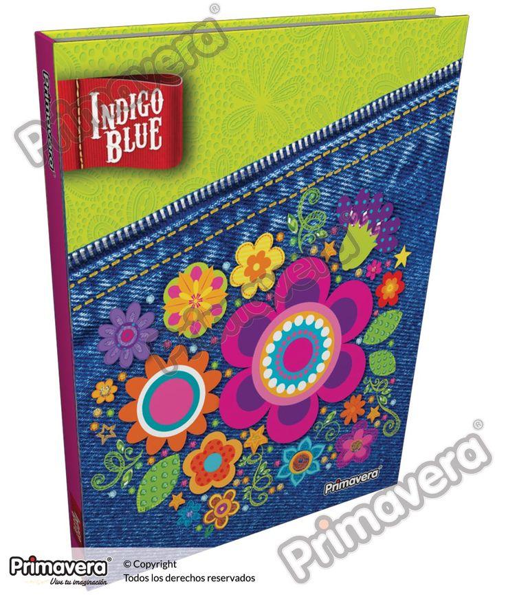 Cuaderno Cosido 5 y 7 Materias Indigo Blue http://escolar.papelesprimavera.com/product/cuaderno-cosido-5-y-7-materias-indigo-blue-primavera-7/
