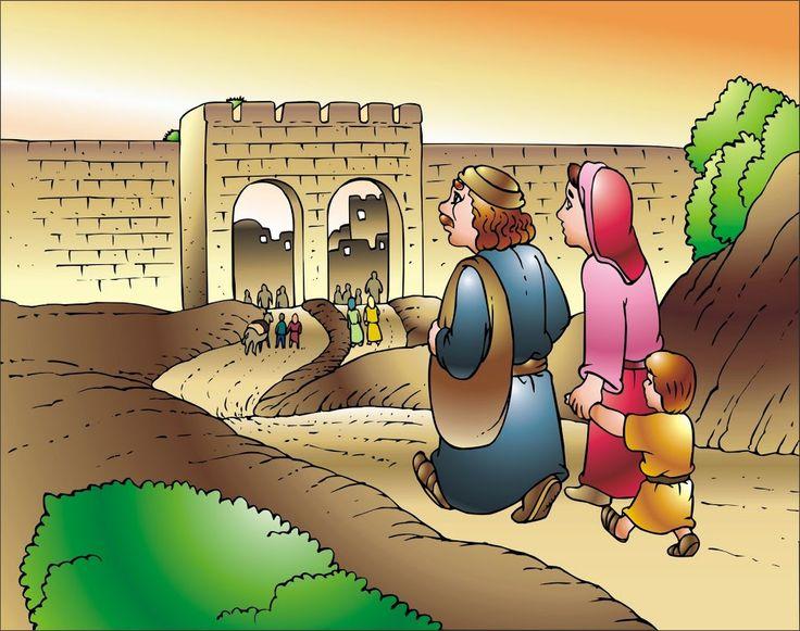 12 jarige Jezus naar de tempel