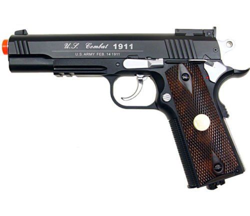 500 fps new full metal wg airsoft m 1911 gas co2 hand gun pistol w 6mm bb bbsAirsoft Gun * Want additional info? Click on the image.