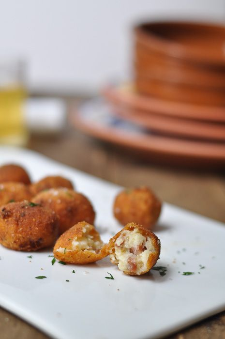 Croquetas - possibly my favourite thing about living in Spain