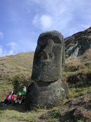 Come with us to Chile and Easter Island! http://www.farhorizons.com/trips/oceania/Easter_Island/TourEasterIsland.php