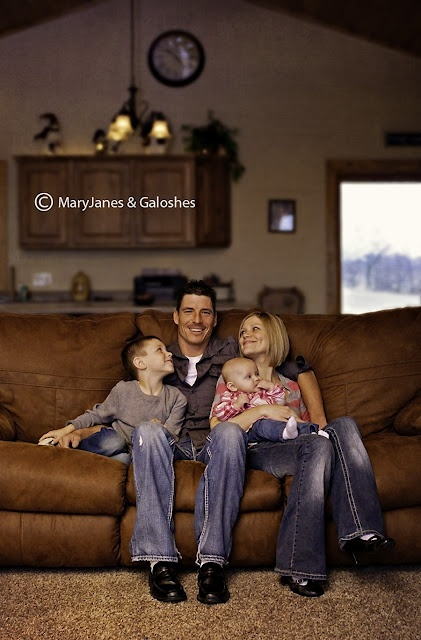 MJ family photo session photography home