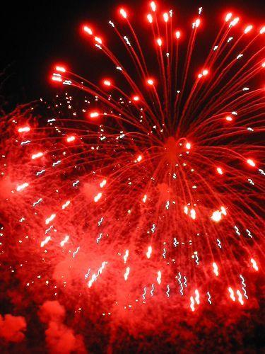 Inspiración red: fireworks
