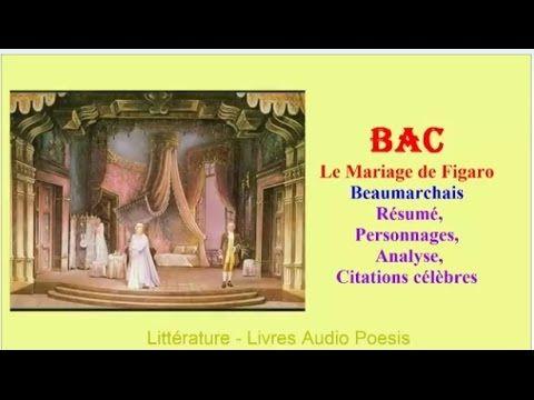 Livre audio 1 https://youtu.be/bJd7Zh01yZA Livre audio 2 https://youtu.be/29Au-aGQSIw Version texte : https://fr.wikisource.org/wiki/Le_Mariage_de_Figaro Le ...