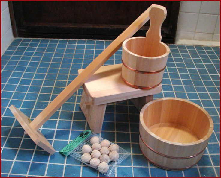 Hinoki Bath Accessories. Japanese ...