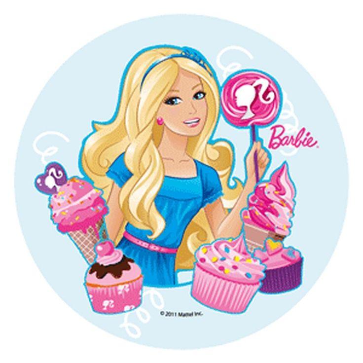 discos de azucar barbie - Buscar con Google