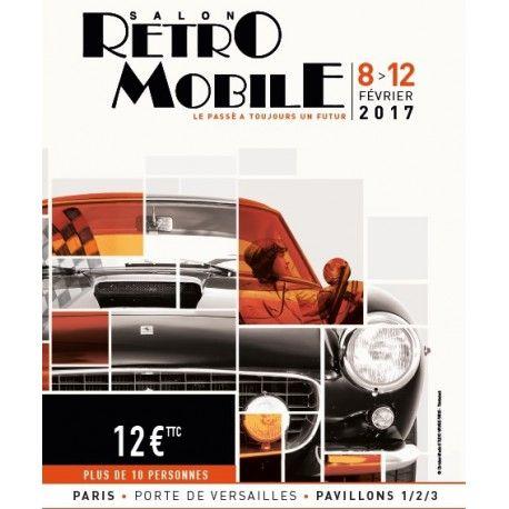 Salon Retro Mobile - du 8 au 12 Fevrier 2017 - Parc Expo - Porte de Versailles - Paris