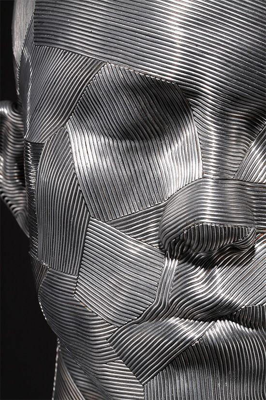 Metal Wire Sculpture by Park Seung Mo (Korean Artist) | Inspiration Grid | Design Inspiration