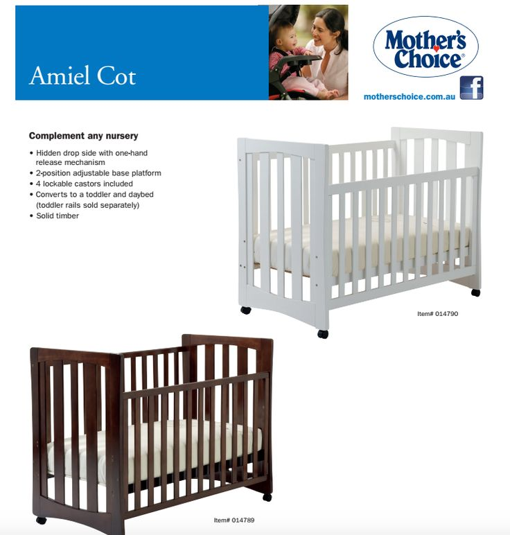"""We would like to thank Mother's Choice who are donating five Mothers Choice Amiel Cots this week. They write: """"like you, we look forward to filling them with little bundles of joy."""" #cotsfortots2015"""