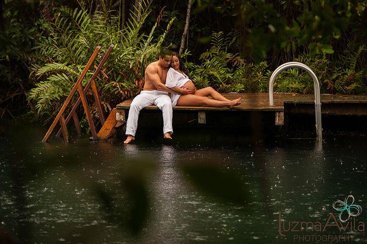 CHRISTIAN & ARMANDO Cenote Hotel Tres Ríos Preganancy Session