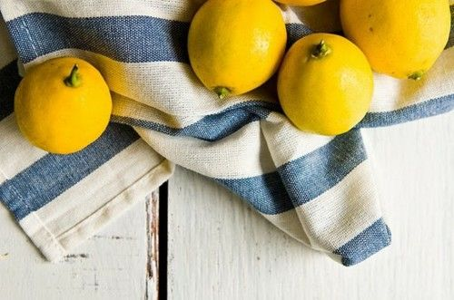 lemon and blue