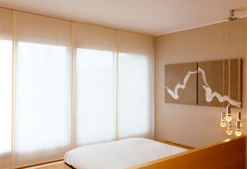 17 best images about cortinas estores y paneles japoneses on pinterest tejido interiors and - Estores y paneles japoneses ...