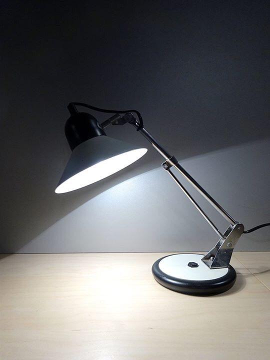 Petite lampe articul e de bureau aluminor fabrication fran aise vendre - Lampe articulee industrielle ...