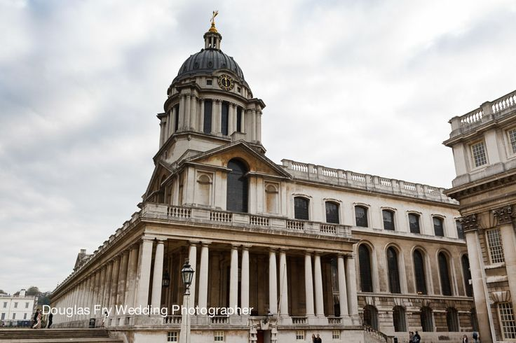 Exterior of Old Royal Naval College in Greenwich