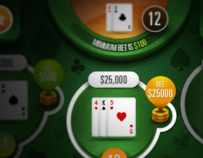 Mobile Blackjack Game: