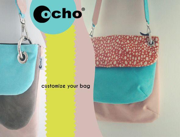 Ochobags , borse a tracolla personalizzabili. : Borse a tracolla di ochobags