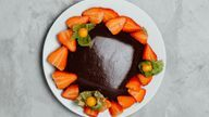 vegansk sjokoladepudding vegetarbloggen sykt godt oppskrift