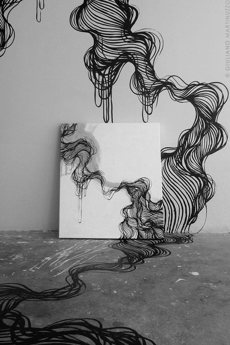 Tattoo, sketch art walls