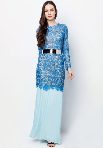 NOOR LACE KURUNG WITH BELT