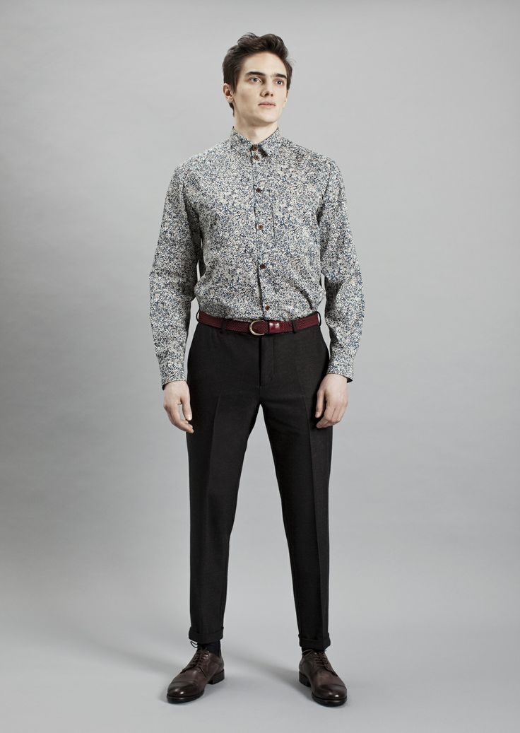 Keith Shirt and Presley Trousers | Samuji Men Fall Winter 2014 Collection