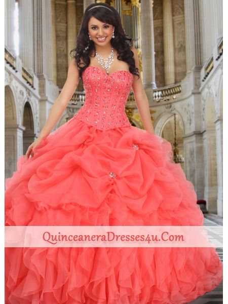 Cute and fashionable dresses. These dresses are from Quinceanera. They are great for fancy Parties!