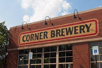 Corner Brewery, Depot Town, Ypsilanti (Beer garden, best place to meet friends, Ypsi Gypsy!)