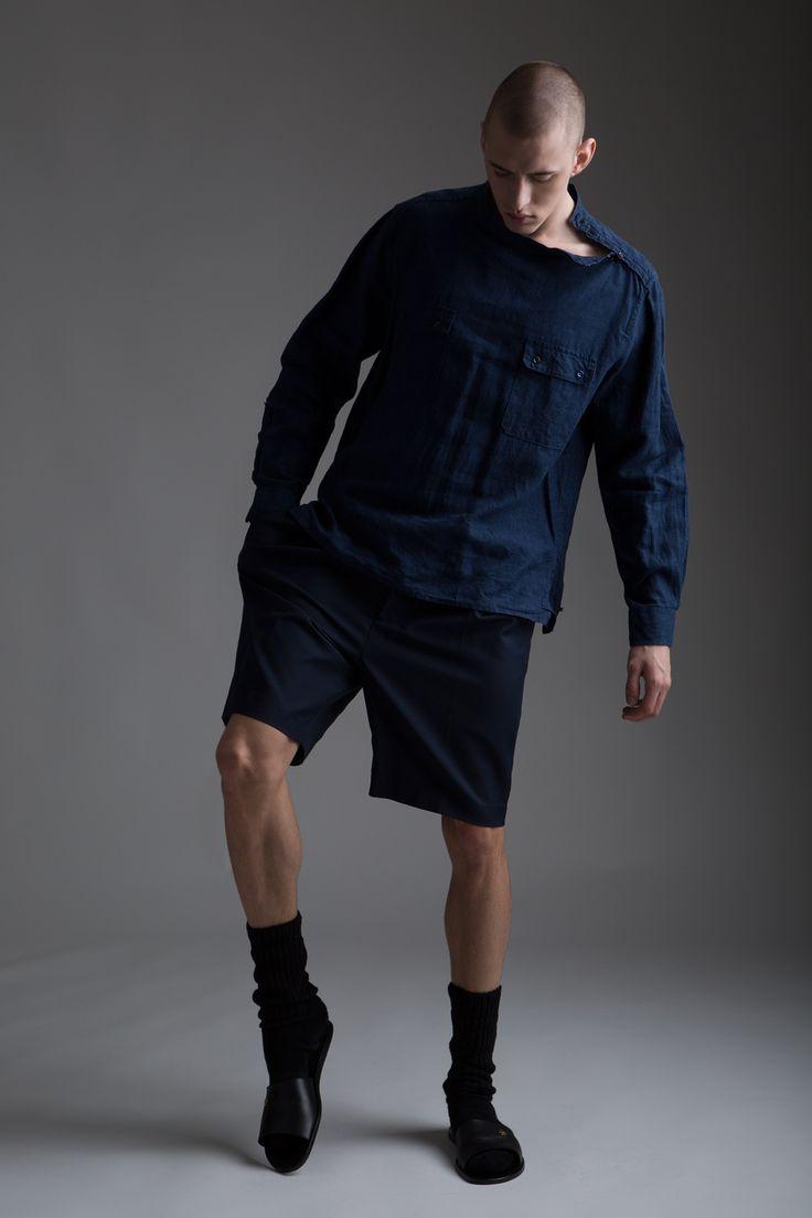 Vintage yves saint laurent men 39 s linen shirt phillip lim Designer clothing for men online sales