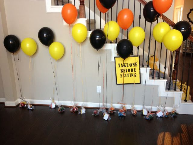 Construction Party: cheapest, easiest themed birthday party ever