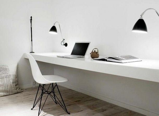 25 beste idee n over zwevend bureau alleen op pinterest jongens bureau rustiek bureau en. Black Bedroom Furniture Sets. Home Design Ideas