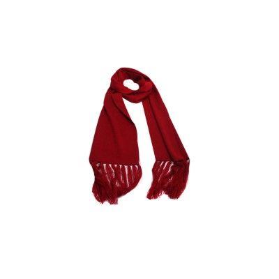 Cachecol Vermelho de Lã 5201 #cachecol #cachecóis #scarfs #scarf #fashion #modafeminina #moda