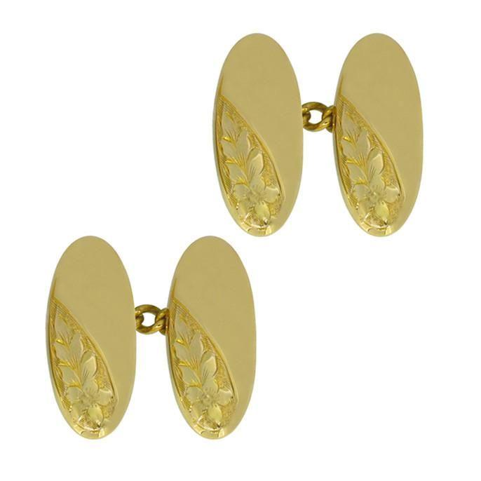 9ct YELLOW GOLD CUFFLINK CUFF LINK  JEWELLERY MAKING