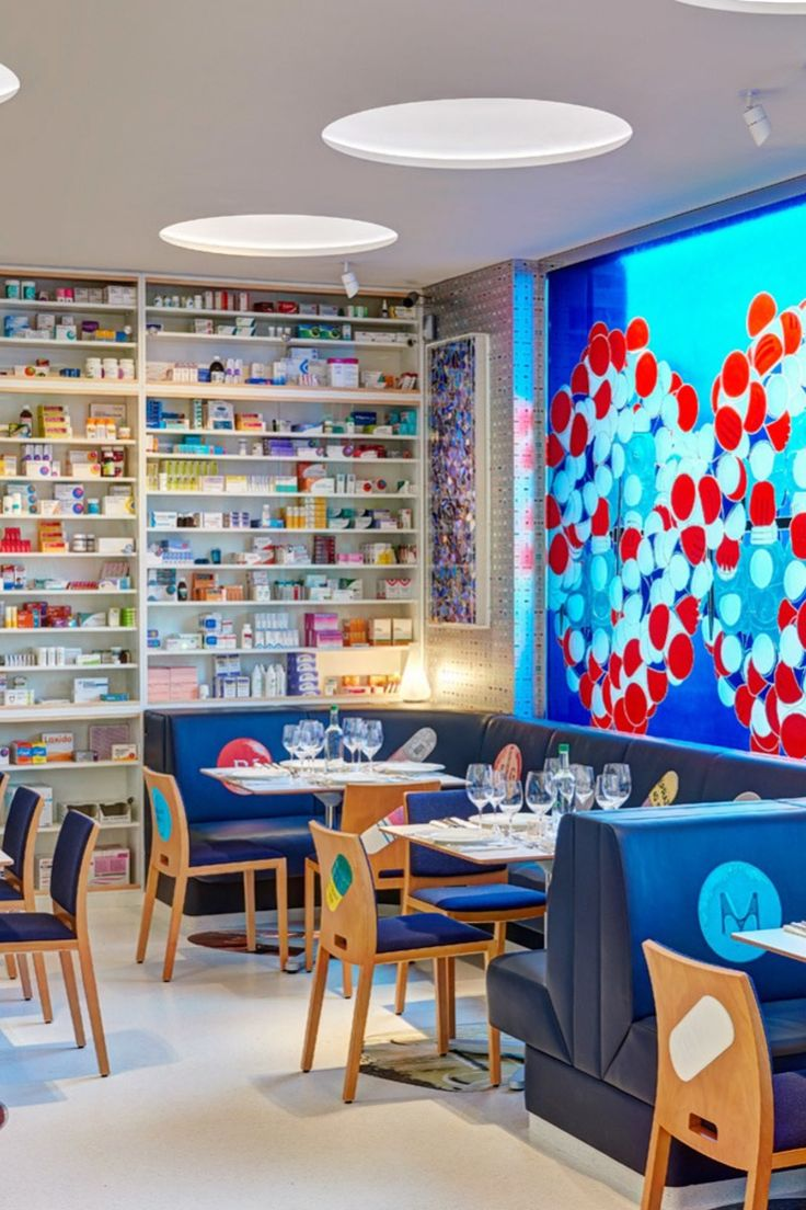 When you're suffering from a hunger for culture, the only treatment is a repeat prescription of Pharmacy 2. The recently opened restaurant, a throwback to the celebrity-packed Notting Hill space from the '90s, is a collaboration between contemporary artist Damien Hirst and chef Mark Hix. Try this quirky eatery!