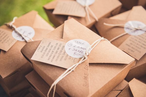 Picnic Boxes Rustic Unintentional Americana Tipi Wedding http://www.georgimabee.com/