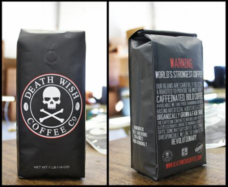 Death Wish Coffee, worlds strongest coffee @_@