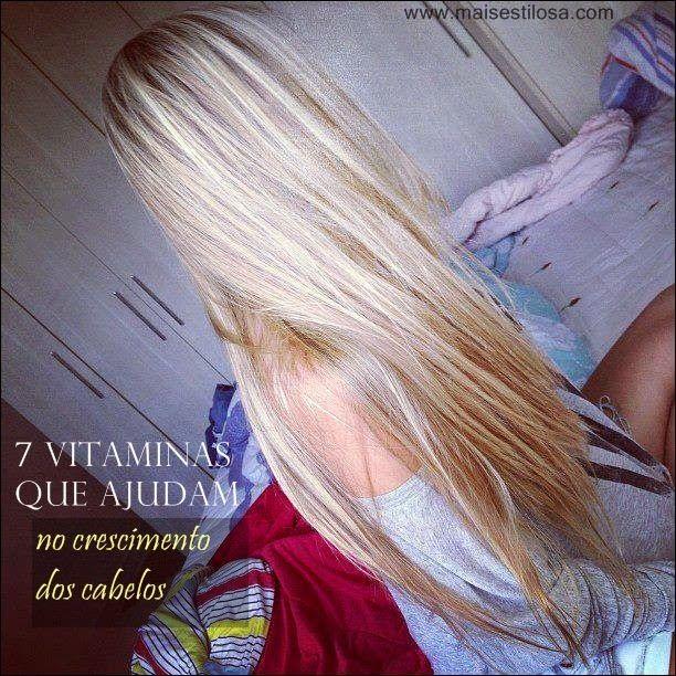 As principais vitaminas que ajudam os cabelos a crescerem maisrápidode formasaudávele naturalserãocompartilhadas com as leitor...