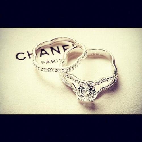 <3: Wedding Ring, Weddings Rings, Dream Rings, Diamonds Rings, Styles, Chanel Rings, Jewelry, Things, Engagement Rings