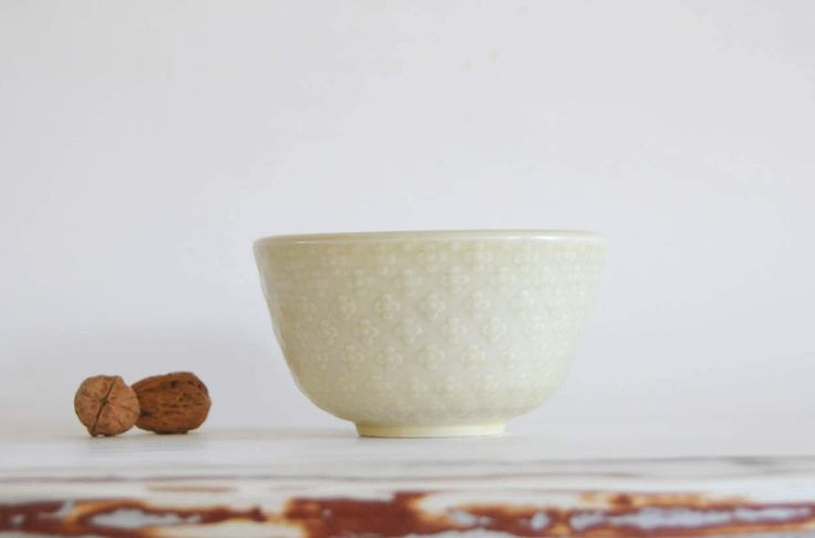 Nils Thorsson for Aluminia - Bowl from MARSELIS serie. Danish mid century pottery by FridasVintage on Etsy